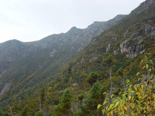 The ridge of the Boott Spur...