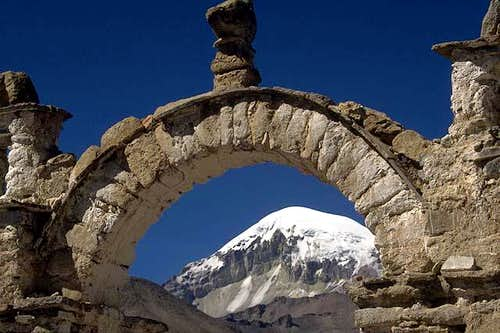 Sajama in frame