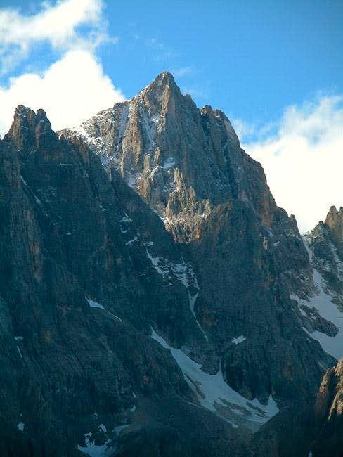 Cima della Vezzana (3192m) as...