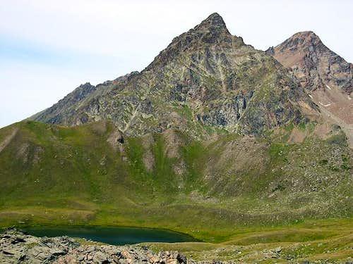 Tour Grauson <i>3240 m</i> and Punta Garin <i>3448 m </i>