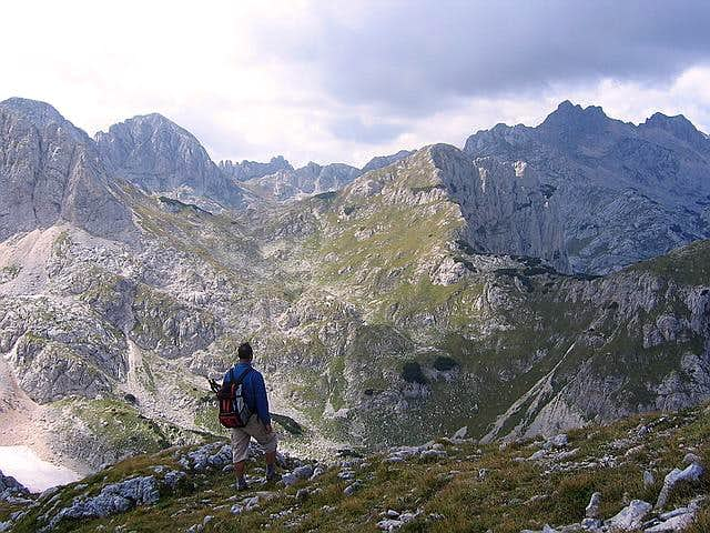 Durmitor's massif from Savin Kuk