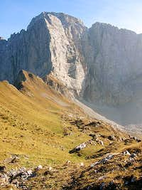 The central north face of...