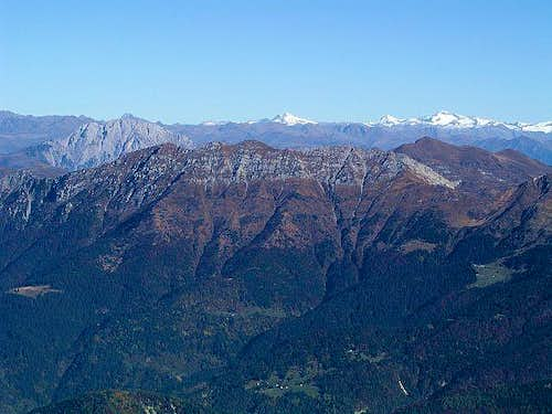 Monte Zermula from the south,...
