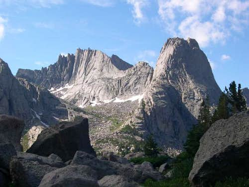 Cirque of the Towers and Titcomb Basin