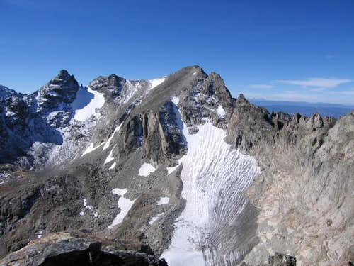 Apache Peak with Navajo Peak...