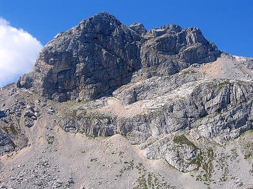 North Face of Bobotov Kuk