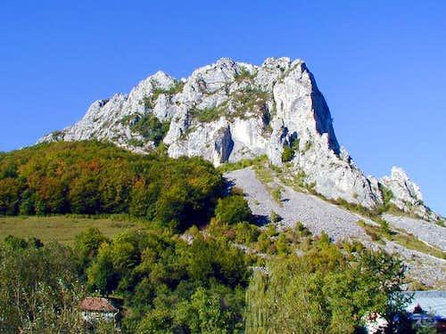 Plesii peak 1250m
