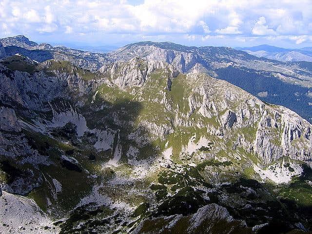 Medjed (2287 m) ridge from...