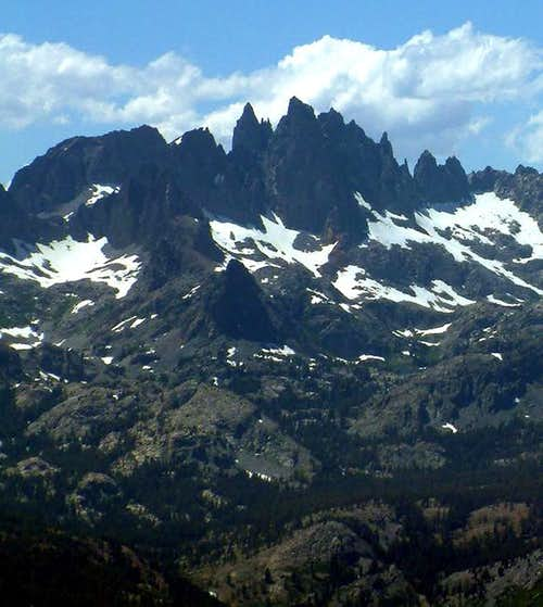 Minarets from Mammoth...