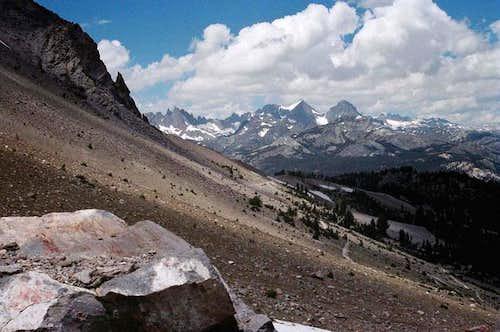 Ritter Range from Mammoth...