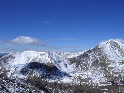 Ruby Mountain & Grays Peak,...