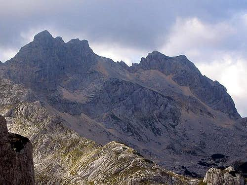 Savin Kuk (2313 m) summit...