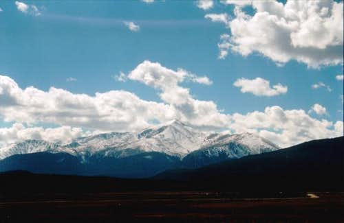 View of Mt. Elbert -Northeast...