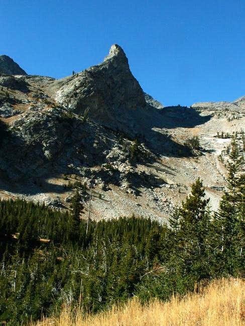 Little Matterhorn as seen...