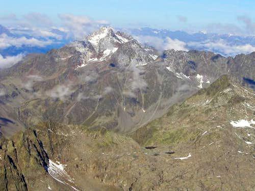 Hochschober seen from the top...