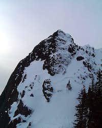 Haystack clothed in snow