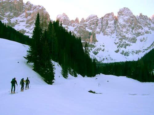 In the Venegia valley
