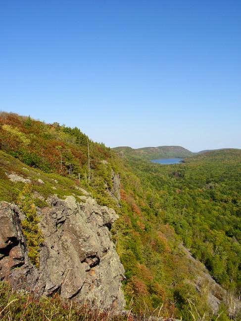 View along the Escarpment...