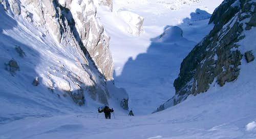 Cima della Vezzana ski tour....