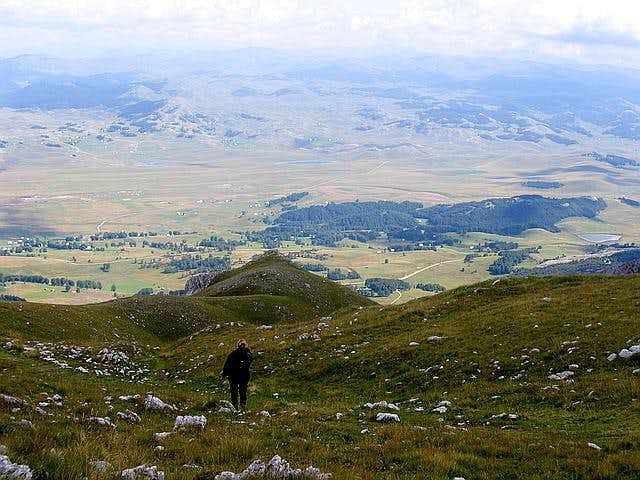 Savin Kuk (2313 m) descent....