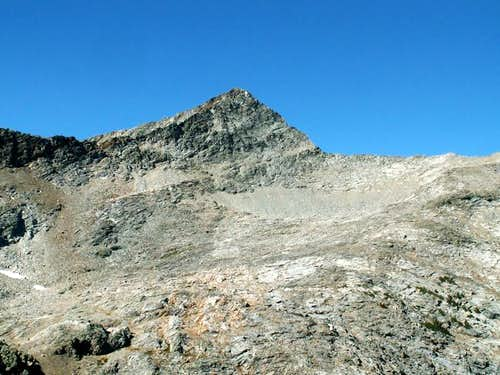 Big Basin Peak\'s southeast...