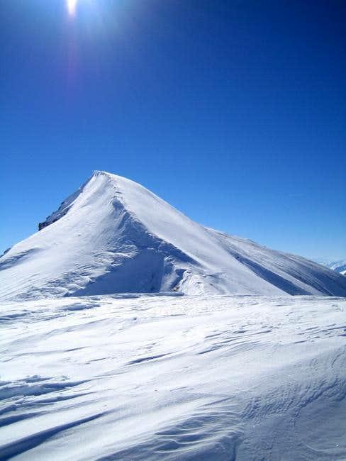 On the ridge towards the...