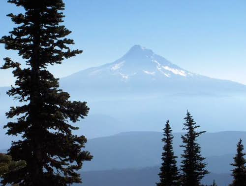 Mt. Hood\'s northeast side...