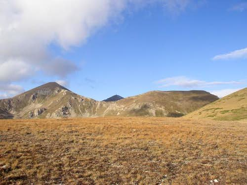 Shar Planina - left peak...