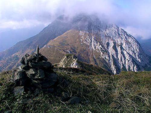 Monte Pizzul summit view...