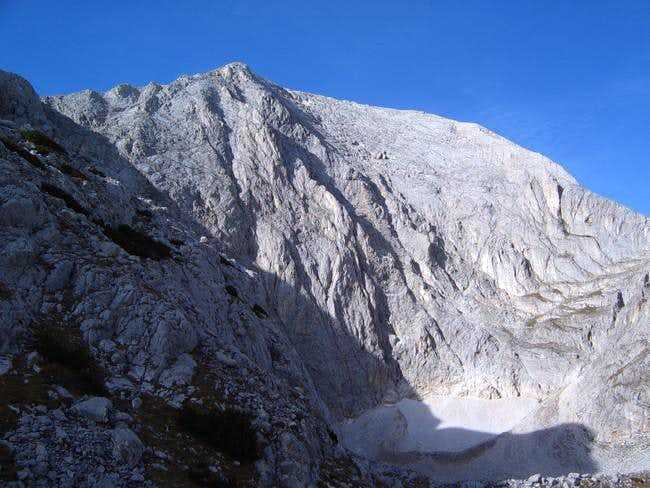 The North-East face of mount...