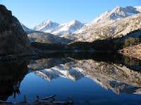 Bear Creek Spire reflected in...