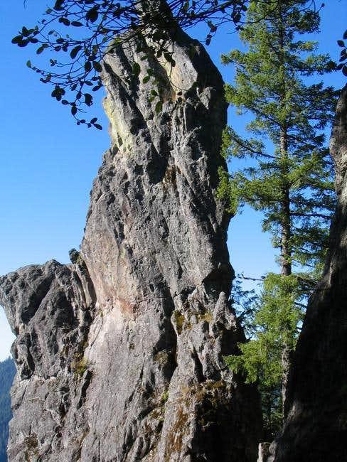 Chicken Rock - just below...