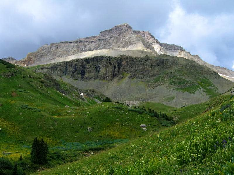 Gilpin Peak, southeast face