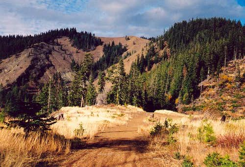 Hex Mountain's summit from...
