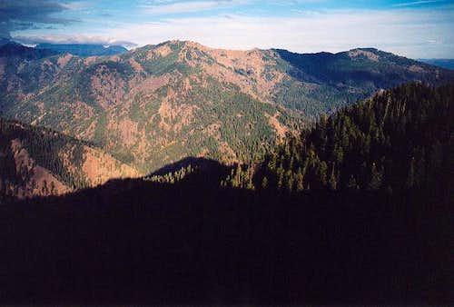 Elbow Peak (5,720+ ft) to the...