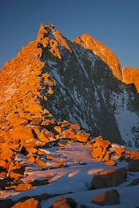 East Ridge of Mt. Russell...