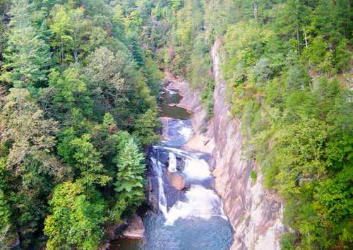 L'Eau d'Or Falls (aka LaDore...