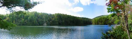 Tallulah Falls Lake, just...