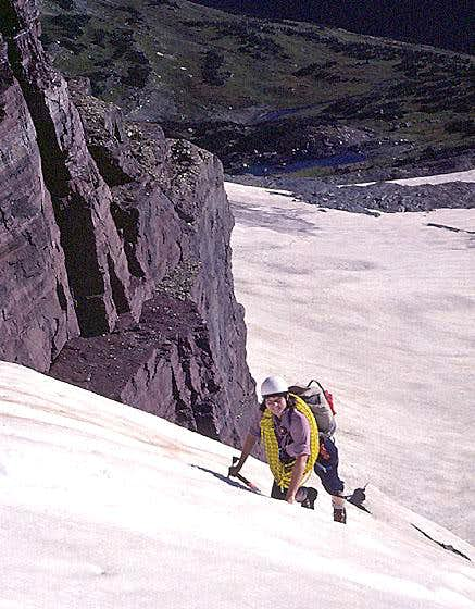 Clements Mountain, East Face Couloir