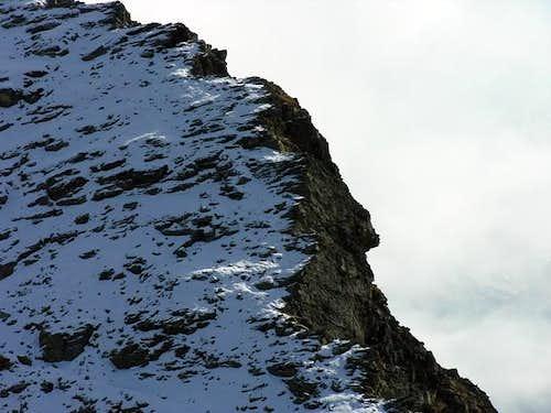 La cresta nord del mont Mary...
