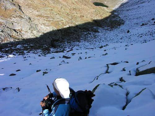 Sulla cresta nord del mont...