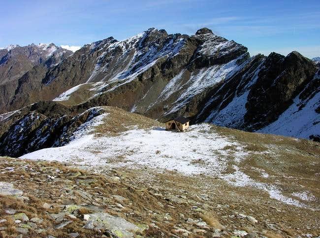 Il colle di Viou (2716 m)...