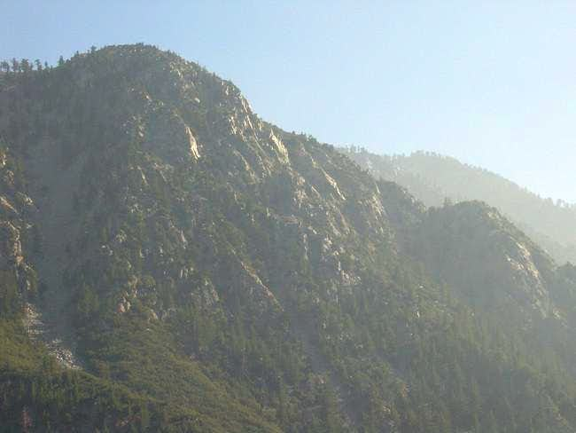 Sugarloaf Peak. 10/26/05