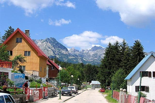 Zabljak (1456 m) town