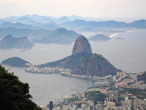 Sugar Loaf mountain from the...