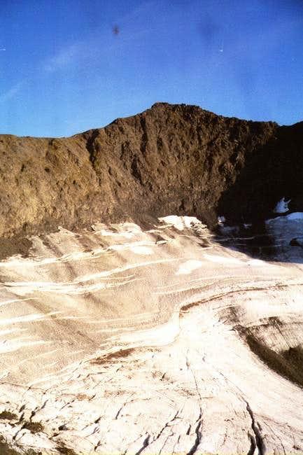Mount Alyeska from lower down...