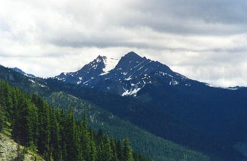 Hawkins Mountain from the...