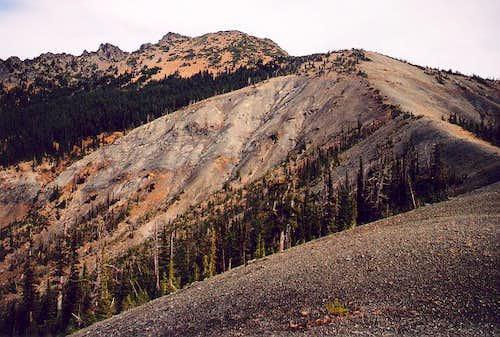 Hawkins Mountain's west...