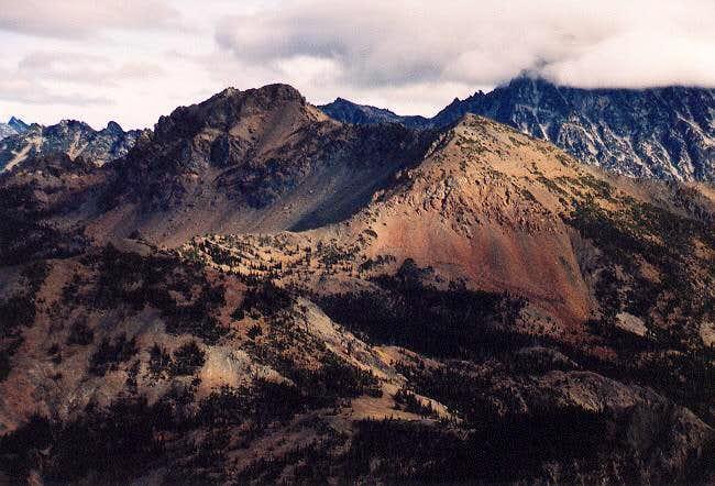 Ingalls Peak (north and south...