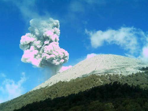 Another Semeru Eruption from...